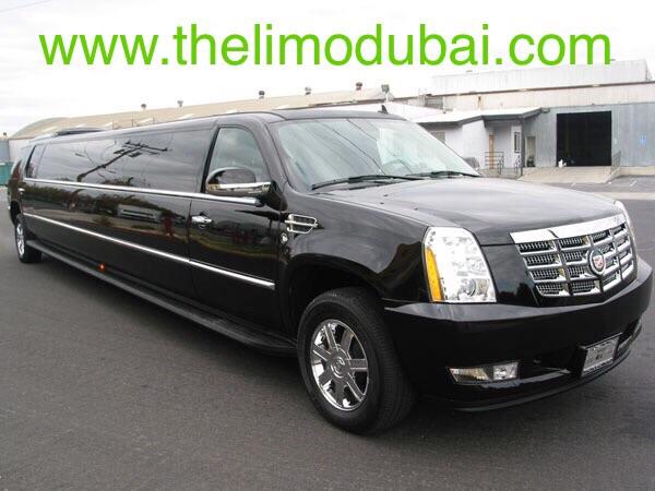 Cadillac Escalade XXX 20 Pax front
