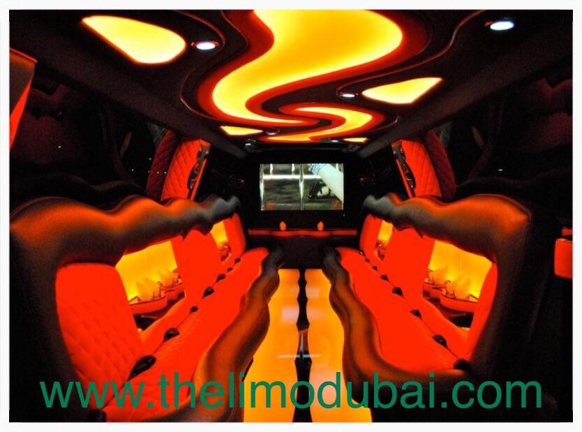 Cadillac Escalade XXX 20 Pax inside