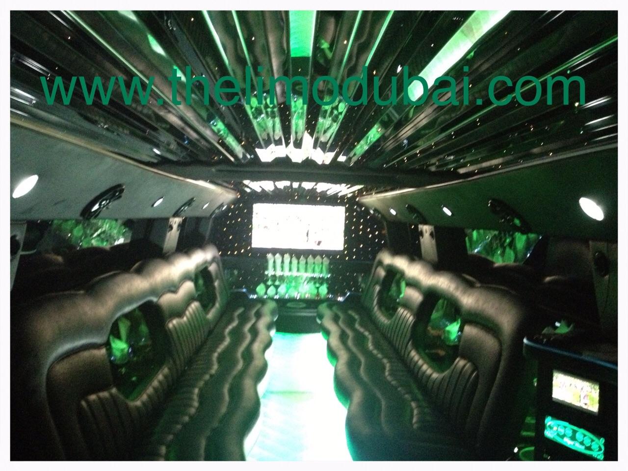 Hummer H2 VVIP 22 Pax inside